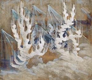 Žiema. II iš 8 paveikslų ciklo