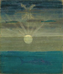 Saulė eina Žuvų ženklu