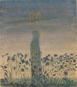 Saulė eina Mergelės